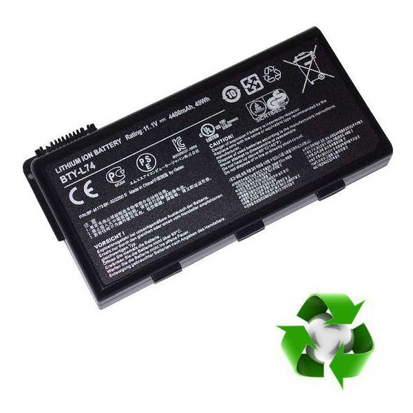 MSI A5000, CR600, CR620, CR700, CX700 - 11,1V 6000 mAh