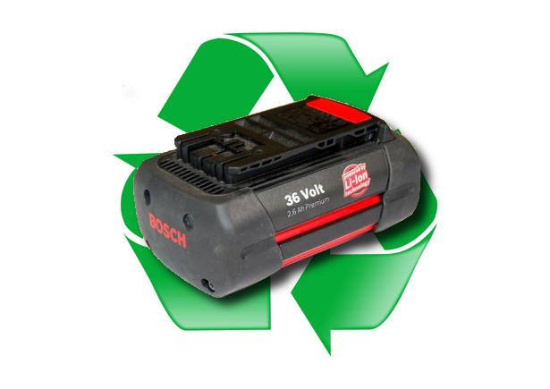 regeneracja akumulatora Bosch 10IMR18/65-2 36V 2,0Ah, 2,6Ah lub 3,0Ah