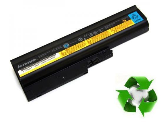 IBM Thinkpad R60, T60, T61p, Lenovo Thinkpad R61, T61, R500, T500 - 10,8V 6000 mAh