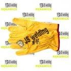 Rękawice TIG krótkie żółte