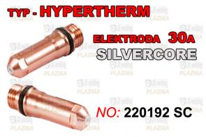 ELEKTRODA  220192 - 30A SILVER CORE