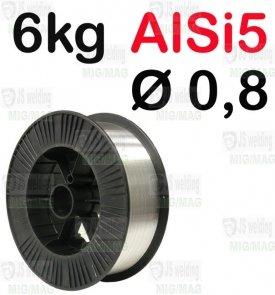 DRUT AlSi5  Ø 0,8 - 6KG