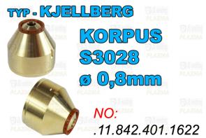 KORPUS- S3028 - ø 0,8mm-.11.842.401.1622