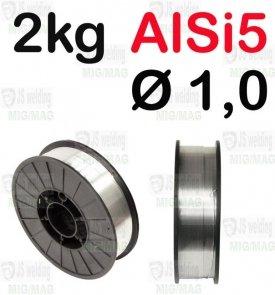 DRUT AlSi5 Ø 1,0 - 2KG