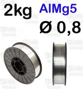 DRUT AlMg5  Ø 0,8 - 2KG