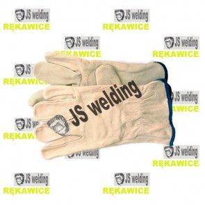 Rękawice TIG krótkie białe