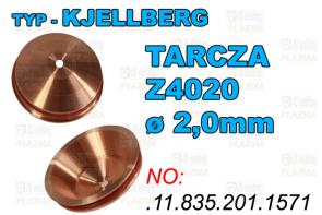 TARCZA- Z4020 - ø 2,0mm - .11.835.201.1571