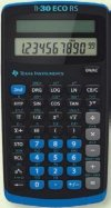 Texas Instruments TI 30 Eco RS