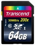 Transcend Secure Digital SDXC Card 64 GB Class 10