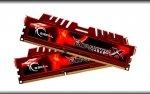 G.Skill DIMM 16 GB DDR3-1600 Kit F3-12800CL10D-16GBXL, RipjawsX-Serie