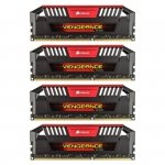 Corsair  32 GB DDR3-1600 Quad-Kit CMY32GX3M4A1600C9R, Vengeance Pro Red