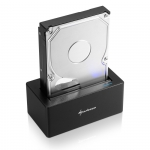 Sharkoon QuickPort USB 3.1 Type C, Dockingstation czarny
