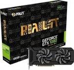Palit GeForce GTX 1080 DUAL OC, HDMI, 3x DisplayPort, DVI-D