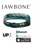 Jawbone UP3 Cross Teal