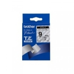 Brother TZE-121 9mm black on clear laminated tape