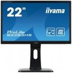 Iiyama ProLite B2283HS-B1, Monitor czarny, HDMI, DVI-D (HDCP), Sound, Pivot