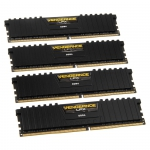 Corsair DIMM 16 GB DDR4-2666 Quad-Kit,   CMK16GX4M4A2666C16, Vengeance LPX