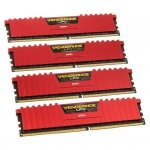 Corsair Vengeance LPX Red DDR4-2666 - CL16 - 32 GB