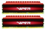 Patriot 8 GB DDR4-2400 Kit, PV48G240C5K, Viper 4
