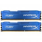 Kingston HyperX DIMM 8 GB DDR3-1866 Kit HX318C10FK2/8, Fury-Serie