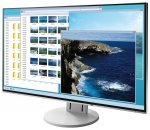EIZO EV2451-WT, LED biały, HDMI, DisplayPort, DVI, VGA