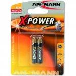 1x2 Ansmann Alkaline AAAA X-Power