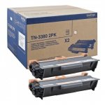 Brother TN-3380 Twinpack Toner czarny
