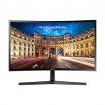 Samsung C24F396FH, czarny, HDMI, VGA, Curved, AMD FreeSync