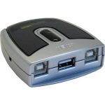 ATEN 2-Port USB 2.0 Peripheral Switch US221A