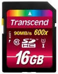 Transcend SD card  SDHC 16GB Class 10 / UHS-I