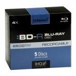 Intenso BD-R 25 GB 4x speed, 5 szt.