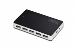 Digitus 10-Port USB 2.0 Hub Active/bk