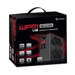 Sharkoon Wpm400 2X Pcie, Kabel-Management, Czarny