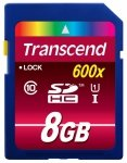Transcend SD Card  SDHC  8GB Class 10 / UHS-I