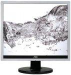 AOC e719Sda, Monitor srebrny/czarny, DVI-D (HDCP), Sound