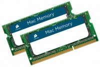 Corsair SO- 8 gb ddr3-1066 kit cmsa8gx3m2a1066c7, mac