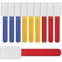 LABEL THE CABLE Etykiety na kable mini - różne kolory - 10 szt.