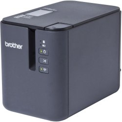Brother P-touch P900W, Drukarka etykiet czarny, USB, WIFI