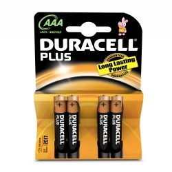 Duracell Plus Power -AAA (MN2400/LR03) Micro   4szt.