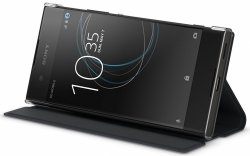 Sony SCSG30 Style Cover Black Xperia XA1