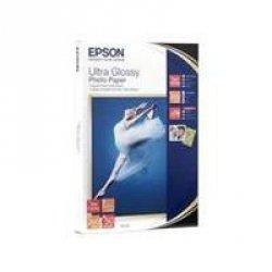 Epson Ultra Glossy Photo Paper 13x18 cm, 50 Bl., 300 g S 041944