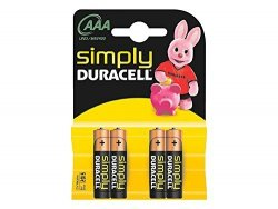 Duracell Simply 4 szt., AAA
