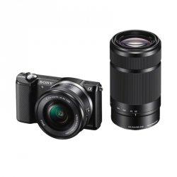 Sony Alpha 5000 Kit black + SEL-P 16-50 + SEL 55-210