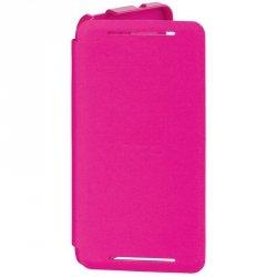 Etui HTC HC V841 Flip Case do HTC One różowy