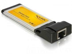 DeLOCK Express Card > 1 x Gigabit LAN czarny