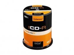 1x100 Intenso CD-R 80 / 700MB 52x Speed, Cakebox