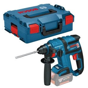 Bosch Akumulatorowa wiertarka udarowa GBH 18V-EC blue bez aku i ład