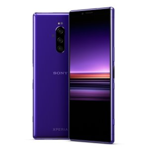 Sony Xperia 1 purple