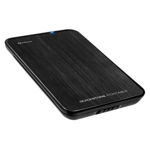 Sharkoon QuickStore portable 2,5 czarny