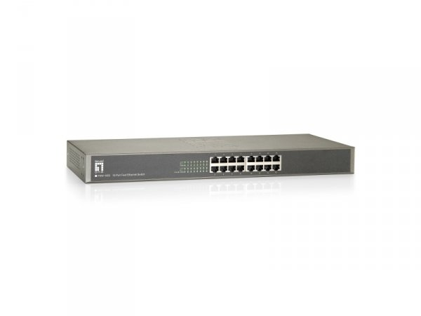 Level One FSW-1650 19  16 Port 10/100Mbps Switch